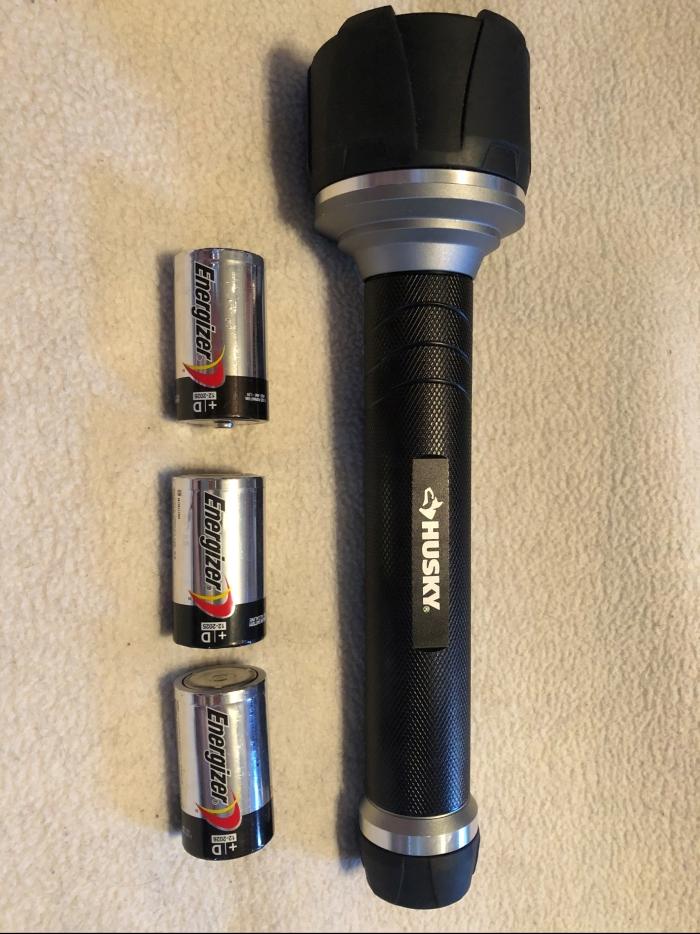 husky flashlight